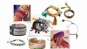 Bracelet Tendance Du Moment : la tendance du moment les bracelets br siliens et indiens ~ Dode.kayakingforconservation.com Idées de Décoration
