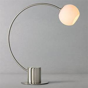 Buy john lewis helium touch table lamp chrome john lewis for Table lamp shades john lewis