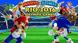 Mario Sonic At The Rio 2016 Olympic Games Review