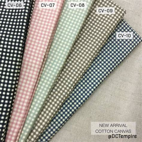 kertas cotton canvas kain pasang cotton corak canvas cottonville
