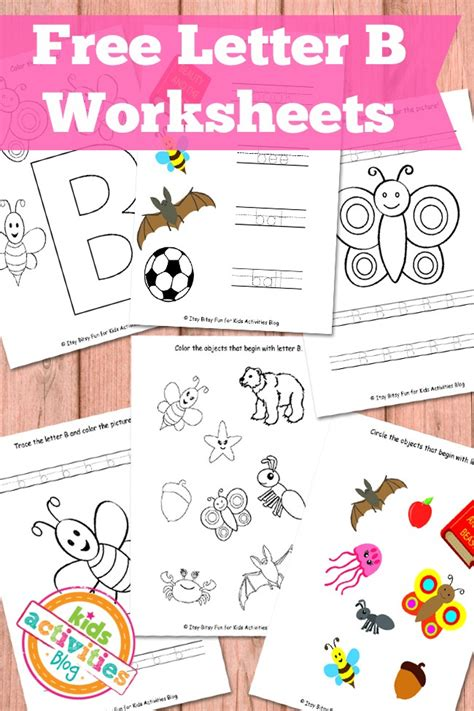 letter b activities letter b worksheets free printables activities 47720