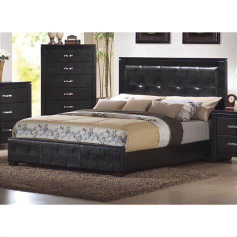 Cymax Bedroom Sets by Upholstered Low Profile Bed 3 Bedroom Set In