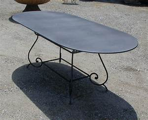 repeindre une table en fer 15737 sprintco With repeindre une table en fer