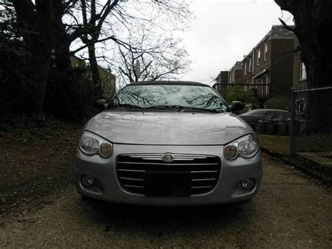 2005 Chrysler Sebring Gas Mileage by Purchase Used 2005 Chrysler Sebring Touring 2d Convertible