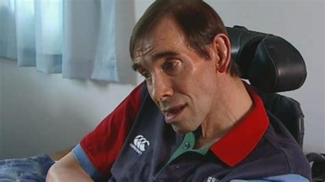 stroke victim desperate  die  demeaning life itv news