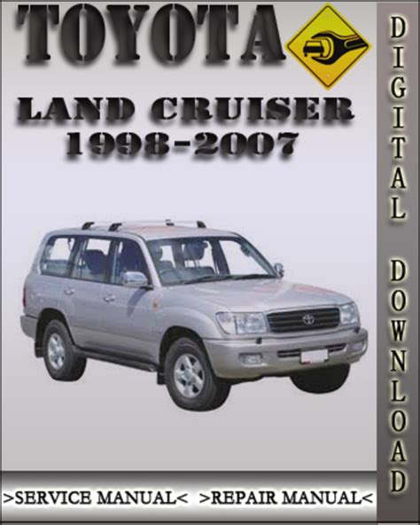 service and repair manuals 2000 toyota land cruiser spare parts catalogs pay for 1998 2007 toyota land cruiser factory service repair manual 1999 2000 2001 2002 2003