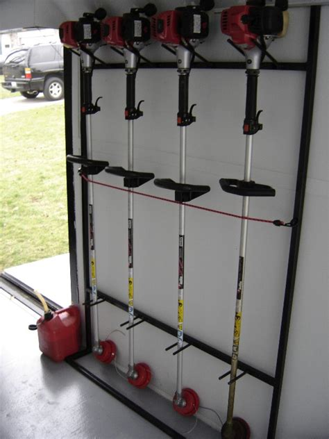 weedeater rack for trailer weedeater racks for enclosed trailers cosmecol