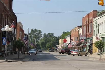 Blissfield Downtown District Michigan Mi Historic Street