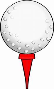 Golf Ball On Tee Clip Art - ClipArt Best