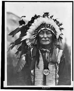 Iron Shell Lakota Sioux Tribe Half Length Portrait
