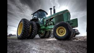 New Tractor And Chisel Plowing - John Deere 4640