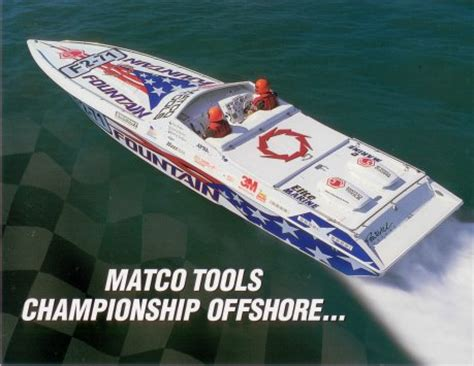 Boat Mechanic Key West by Matco F2 71 Mechanic To Offshore Racing Chion