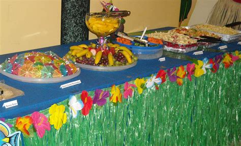 tropical table ls cheap birthday party decorating ideas with balloons hom