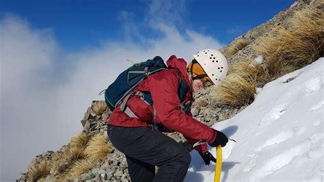 mountaineering  oenz outdoor education  zealan