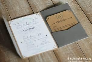 wedding program kits diy faire part vintage bohème pour votre mariage