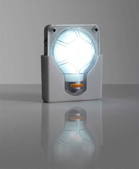 wall mounted 4 led battery operated anywhere handy bulb