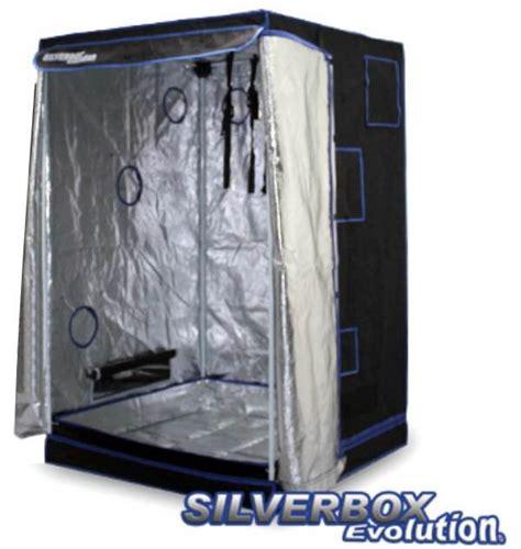 chambre culture cannabis complete silver box evolution 100x100x160cm chambre de culture