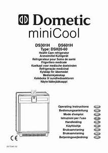 Dometic Ds601h Fridge   Refrigerator Download Manual For