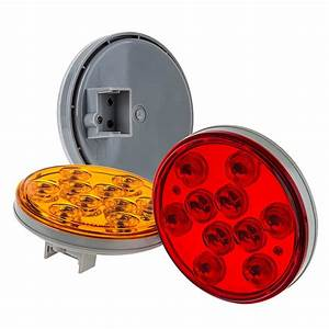 Round Led Truck Trailer Lights  Turn  Tail