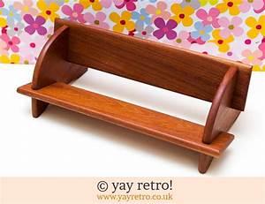 Teak, Table, Top, Book, Shelf, -, Buy, Yay, Retro, Handmade, Crochet, Online
