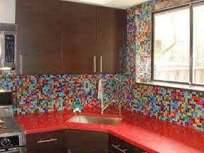 colorful kitchens ideas 36 colorful and original kitchen backsplash ideas digsdigs