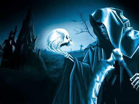 Anime Grim Reaper Wallpaper - grim reaper wallpapers