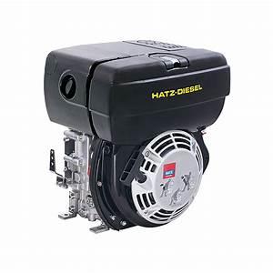 Hatz 1b30 Diesel Engine Electric Start