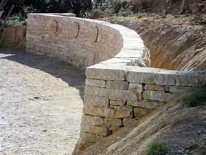 Mur En Moellon : pierreseche com annuaire des ma ons pierres s ches ~ Dallasstarsshop.com Idées de Décoration