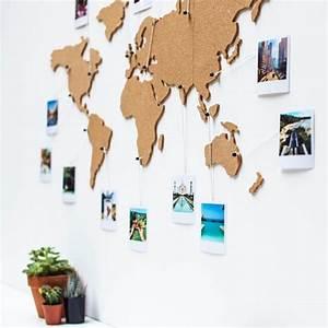 Carte Du Monde En Liège : carte du monde en li ge cadeau maestro accessoires de ~ Melissatoandfro.com Idées de Décoration
