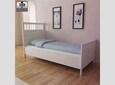 IKEA HEMNES Bed 3D model Hum3D