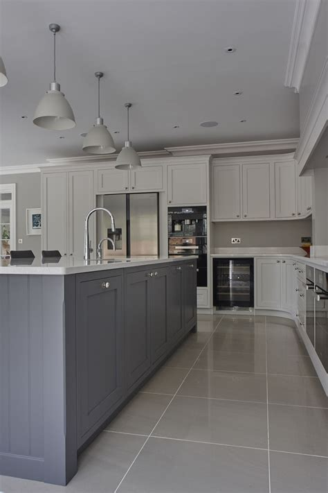stunning hand painted shaker kitchen silestone quartz