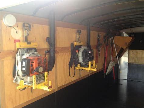enclosed trailer setup lawnsite