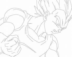 Vegeta Super Saiyan by SbdDBZ on DeviantArt