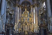 Baroque altar, St. Nicholas Cathedral, Prague | The ...