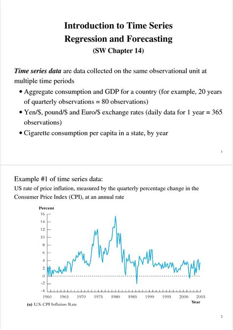 econometria dispense regressione forecasting e time series dispense