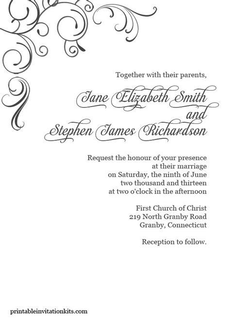 simply elegant swirls border wedding