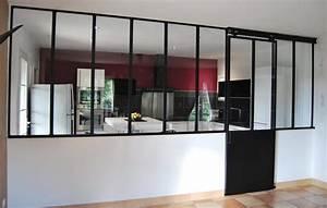 Verriere Interieure Coulissante : verri re acier toulouse porte coulissante suspendue ~ Premium-room.com Idées de Décoration