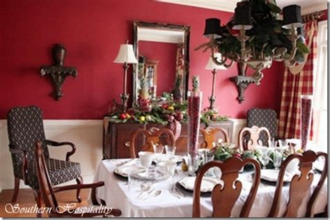 Ruby's Red Dining Room