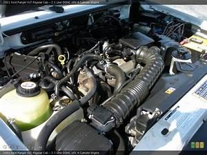2 3 Liter Dohc 16v 4 Cylinder 2001 Ford Ranger Engine