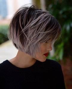 Coiffeuse Noir Et Blanche : id e tendance coupe coiffure femme 2017 2018 cheveux courts m ch s les mod les les plus ~ Teatrodelosmanantiales.com Idées de Décoration