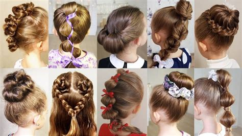 10 cute 1 minute hairstyles for busy morning quick easy hairstyles for school youtube