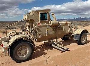 Husky Chubby System mine IEDs detection clearing vehicle ...