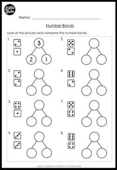 Kindergarten Math Number Bond Worksheets And Activities  Little Dots Education Preschool