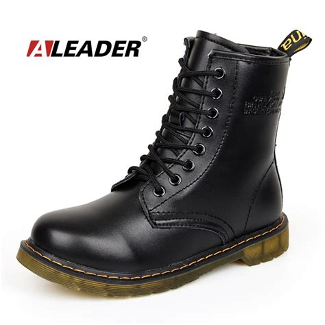 buy motorcycle waterproof boots aliexpress com buy womens autumn leather ankle drboots