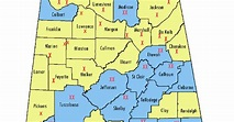 Alabama Noise: Dry Counties