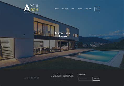 architecture  construction website template