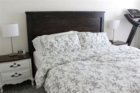 Did Headboard diy wued guide to get woodworking project headboard