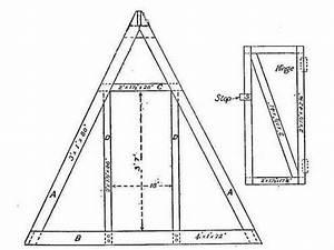 Poulaillers  Construire Un Poulailler Triangulaire