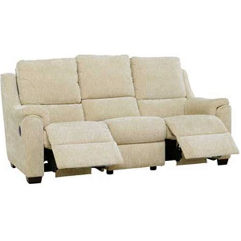 Recliner Settee by Knoll Albany Power Recliner 3 Seater Sofa In