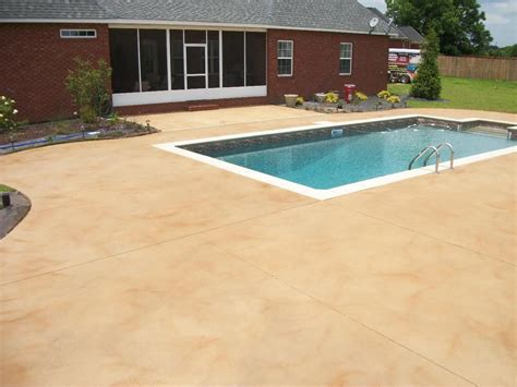 colors   cement pool deck google search